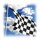 Nylon Checker Flags