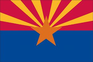 Spectramax 8'x12' Nylon Arizona Flag
