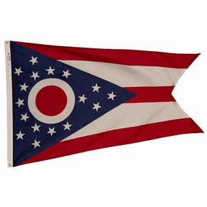 Spectramax 5'x8' Nylon Ohio Flag