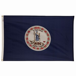 Spectramax 5'x8' Nylon Virginia Flag