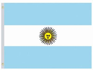 Perma-Nyl 2'x3' Nylon Argentina Government Flag