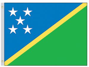 Perma-Nyl 4'x6' Nylon Solomon Islands Flag