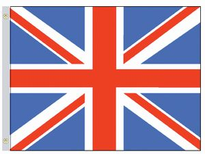 Perma-Nyl 2'x3' Nylon United Kingdom Flag