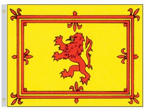 Perma-Nyl 2'x3' Nylon Scotland Royal Banner Flag