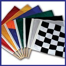 Auto Racing Flag Set--Poles Included
