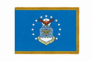 Perma-Nyl 4'x6' Nylon Indoor Air Force Flag