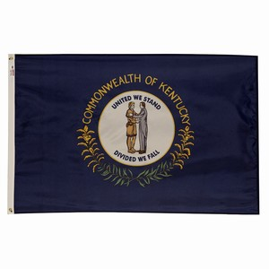 Spectramax 6'x10' Nylon Kentucky Flag