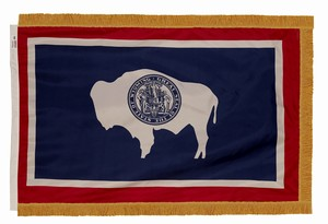 Spectramax 3'x5' Nylon Indoor Wyoming Flag
