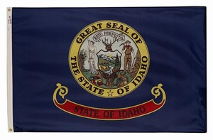 Perma-Nyl 3'x5' Idaho Flag - Retail Packaging