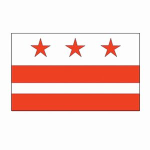 Spectramax 4'x6' Nylon District Of Columbia Flag