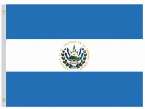 Perma-Nyl 5'x8' Nylon El Salvador Government Flag