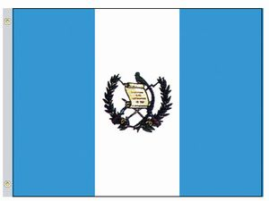 Perma-Nyl 3'x5' Nylon Guatemala Government Flag