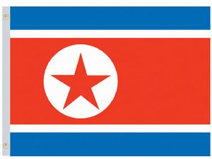 Perma-Nyl 4'x6' Nylon Korea (North) Flag