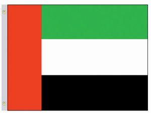 Perma-Nyl 4'x6' Nylon United Arab Emirates Flag