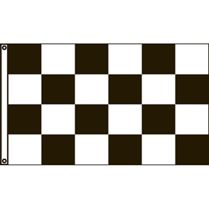 3' X 5' Open canvas auto racing flag