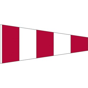 "24"" x 36"" Nylon International code of signal flag"
